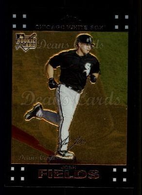 2007 Topps Chrome #308  Josh Fields